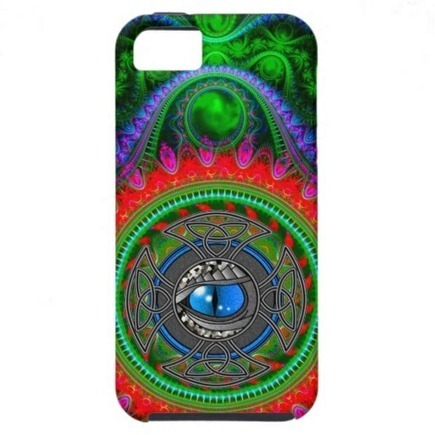 Cosmic Eye Fantasy iPhone 5 Cases from Zazzle.com | Fashion to Delight You for Home and to Wear | Scoop.it