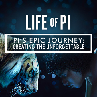 [website] Life of Pi's website : you can scroll ! | [graphic + web design] - typography, ergonomy & visual identity | Scoop.it