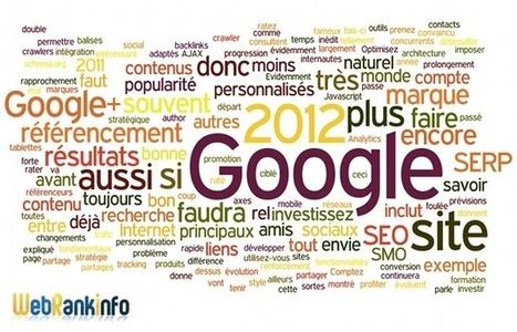 Le référencement en 2012 : les tendances et les conseils d'Olivier Duffez | Digital Experiences by David Labouré | Scoop.it