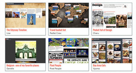 Padlet, una manera simple de crear una pizarra colaborativa online | #REDXXI | Scoop.it