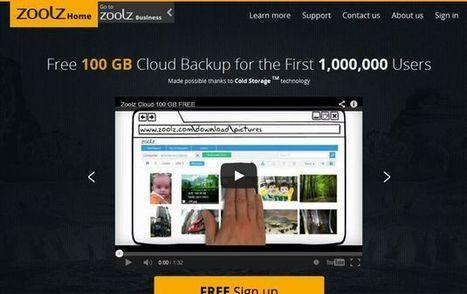 Zoolz, 100 Gb de almacenamiento online gratuito para el primer millón de usuarios registrados | Pedalogica: educación y TIC | Scoop.it