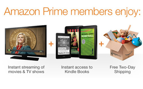 Holiday bargain: Amazon tests $8 monthly Prime plan for shipping & streaming  | Inside Amazon | Scoop.it