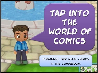 26 Ways to Use Comics in the Classroom & 5 Free Tools for Creating Comics | Cool Tools for Drawing and Painting | Scoop.it