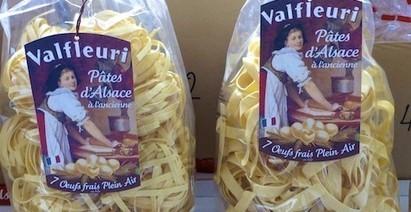 Vitrine de l'Alsace : Valfleuri, fabrication de pâtes d'Alsace | Méli-mélo de Melodie68 | Scoop.it