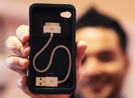 MAKE | iPhone Cord-On-Board Case | iPhone Tips and Tricks | Scoop.it