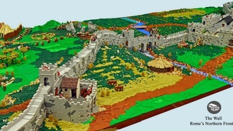 Enthusiasts Created A Giant Roman Empire Display From LEGO   WOW Factor   Scoop.it