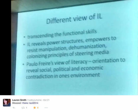 Diving into critical pedagogy: an alterative view of information literacy - The Ubiquitous Librarian - The Chronicle of Higher Education | Sharing Information literacy ideas | Scoop.it