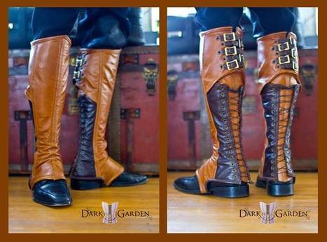 Men's Steampunk Spats | Just Put Some Gears on It | Scoop.it