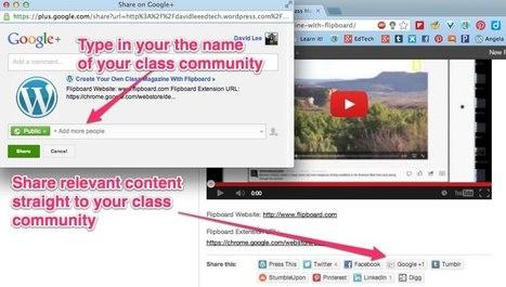 Create a Classroom or School Google+ Community | Digitalmente | Scoop.it