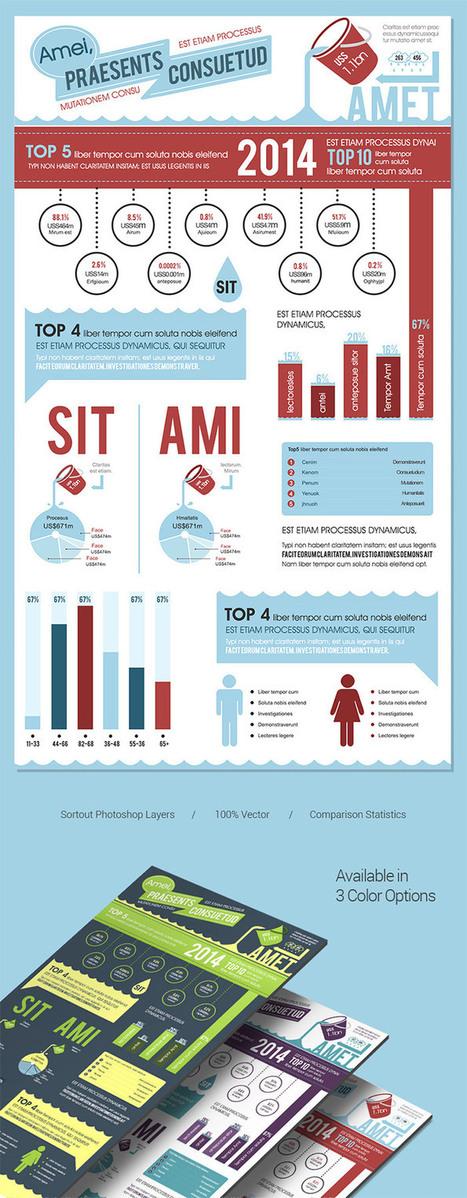 40 Free Infographic Templates to Download | Sitios y herramientas de interés general | Scoop.it