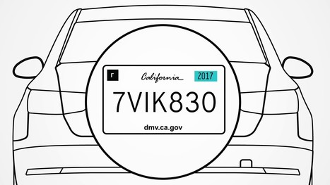 First-Ever Interactive Digital License Plate Debuts at Detroit Auto Show's Automobili-D - IoT - Internet of Things | Management - Innovation -Technology and beyond | Scoop.it