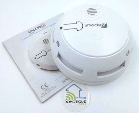 Smockeo : Le détecteur de fumée connecté Sigfox | SIGFOX (FR) | Scoop.it