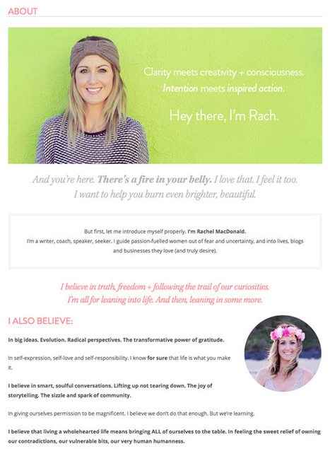 How To Write Your About Me Page | Sestyle - Personal Branding ENG | Scoop.it