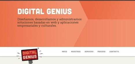 digitalgenius.es | Web Design Inspiration .com | le webdesign | Scoop.it
