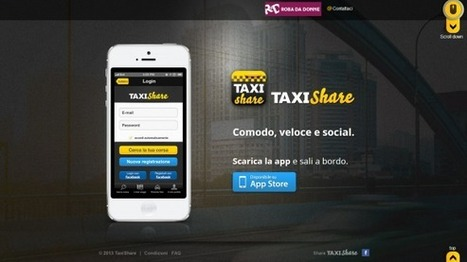 Taxi Share, la nuova app tutta italiana. Su App Store | Social Media (network, technology, blog, community, virtual reality, etc...) | Scoop.it