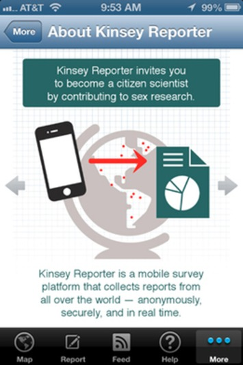 IU's Kinsey, re-release app for anonymous reporting of sexual behaviors. | Sex Positive | Scoop.it
