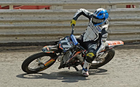 Kyle Johnson Wins Knoxville Half Mile Ryan Wells Takes Over Series Points Lead | California Flat Track Association (CFTA) | Scoop.it