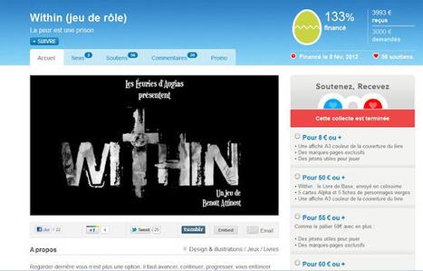 [Communiqué] Fin de la levée de fonds de Within | Jeux de Rôle | Scoop.it