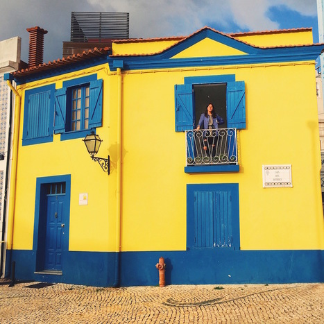 """24 Hours in Aveiro, the Candy-Colored """"Venice of Portugal""""  Messy Nessy Chic 