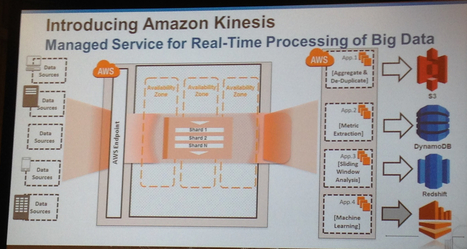 Amazon wades into big data streams with Kinesis | Bits 'n Pieces on Big Data | Scoop.it