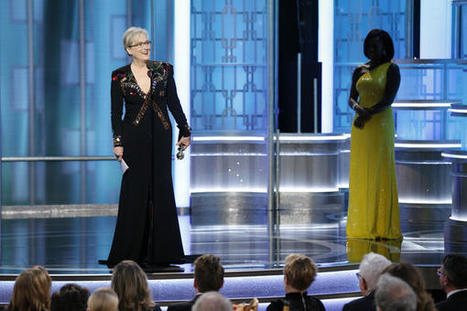 Watch (and read) all of Meryl Streep's provocative Golden Globes acceptance speech | eflclassroom | Scoop.it