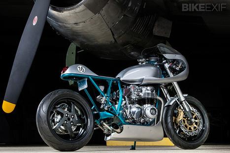 Honda CB550F By KDI Cycles