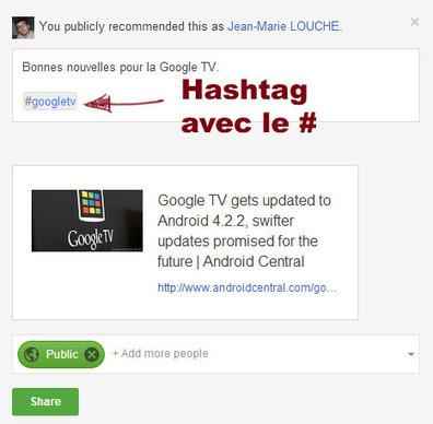 Utiliser le #hashtag Google Plus pour suivre votre réputation ou faire de la veille ? | Toulouse networks | Scoop.it