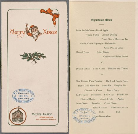 What did a holiday meal look like 100 years ago? | Teacher Tools and Tips | Scoop.it