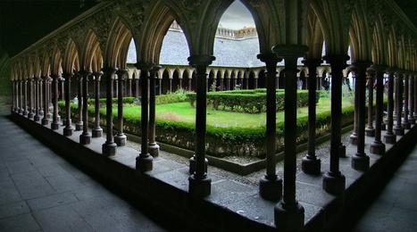 Cure de jouvence pour le cloître de l'abbaye du Mont Saint-Michel | L'observateur du patrimoine | Scoop.it