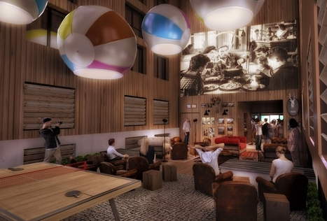 RockyPop Hôtel : le nouvel hôtel de Chamonix qui bouscule les codes | World tourism | Scoop.it