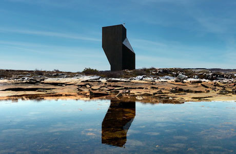 Modernism + Nature: the Tower Studio in Shoal Bay, Newfoundland | Top CAD Experts updates | Scoop.it