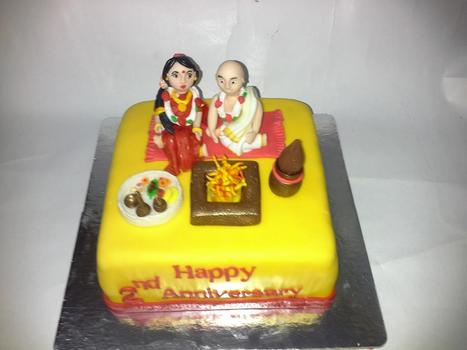Anniversary Cake Delivery In Hyderabad