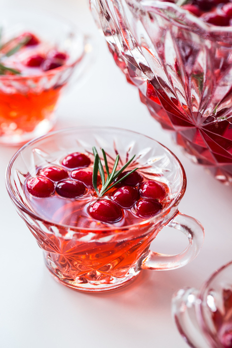 Sparkling Cranberry Rosemary Punch - My Baking Addiction | Passion for Cooking | Scoop.it