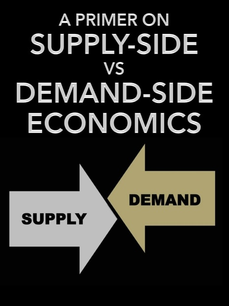 A Primer on Supply-Side vs Demand-Side Economics | The Economy: Past, Present and Future | Scoop.it