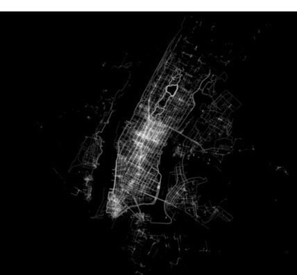 Most Popular Ways to Move Around Cities Visualized in Beautiful Maps | Big and Open Data, FabLab, Internet of things | Scoop.it