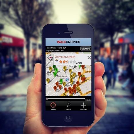 Using Smartphones to Improve Walkability | PROYECTO ESPACIOS | Scoop.it