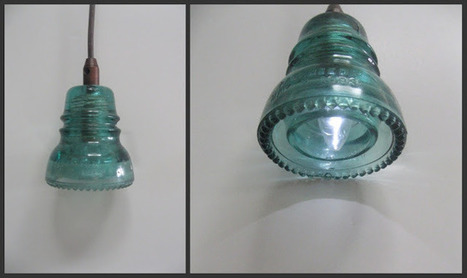A beautiful use for a vintage glass insulator | Gardening Life | Scoop.it