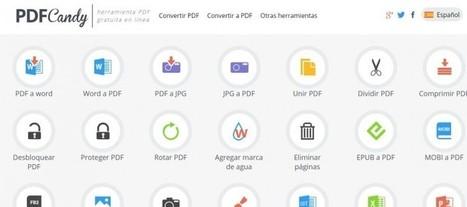 PDF Candy, 24 herramientas online para trabajar con PDFs | e-learning y aprendizaje para toda la vida | Scoop.it