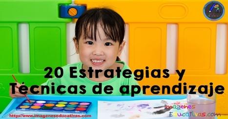 20 Estrategias y Técnicas de aprendizaje - Imagenes Educativas | FOTOTECA INFANTIL | Scoop.it