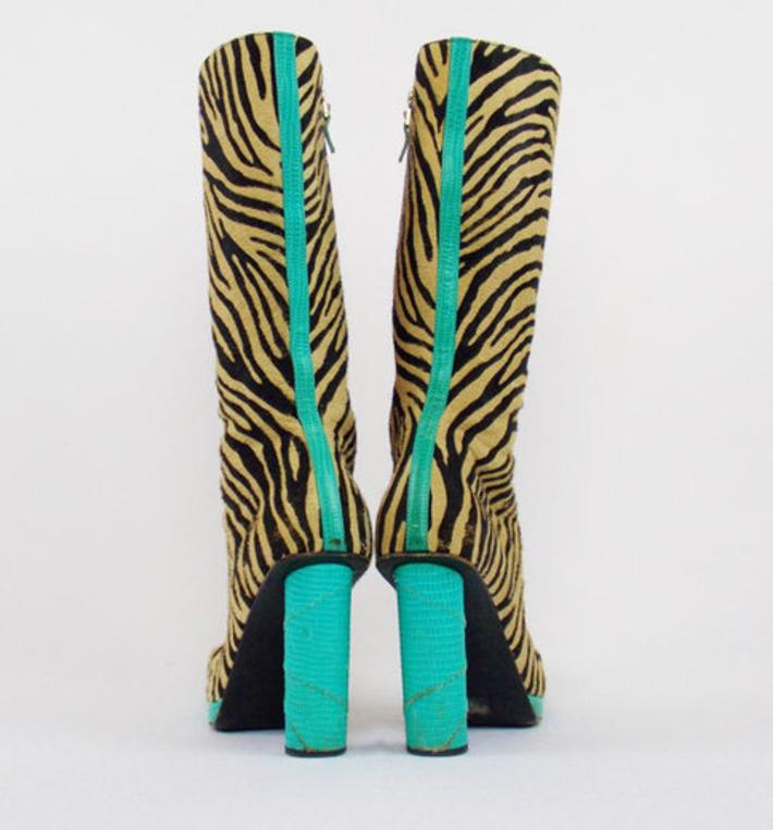 Snakeskin Platform Boots   Kitsch   Scoop.it