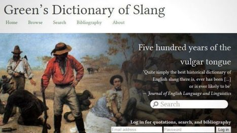 "The Largest Historical Dictionary of English Slang Now Free Online: Covers 500 Years of the ""Vulgar Tongue"" 