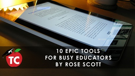 10 Epic Tools Busy Teachers Need to Be Aware of | Tech Pedagogy | Scoop.it