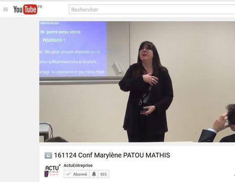 """Vidéo de la 131 eme conférence du Club IES """"Préhistoire de la violence et de la guerre"""" par Marylène Patou-Mathis   Veille et Intelligence Economique   Scoop.it"""