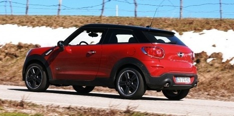Mini Paceman ALL4 : le chic polyvalent - Challenges.fr | Autoradio BMW | Scoop.it