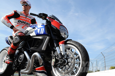Ben Spies Drag Races Modified Ducati Diavel at Indy- Part 2 | Ductalk Ducati News | Scoop.it