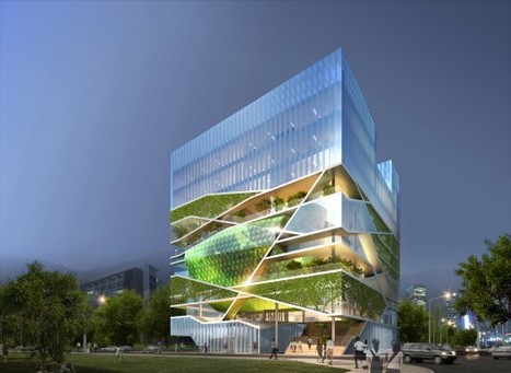 Culture Forest: Community-oriented ecological design by Unsangdong Architects | buda31 | Scoop.it