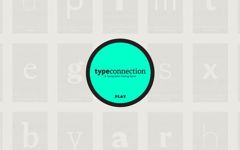 Type Connection - Site de rencontres pour typographies | [graphic + web design] - typography, ergonomy & visual identity | Scoop.it