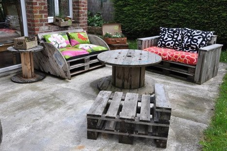 Le Salon de jardin de la seconde vie #DIY #id&e...