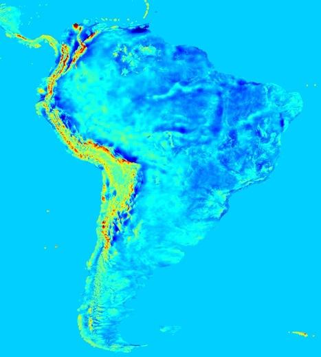 ALLPE Medio Ambiente Blog Medioambiente.org : Los mejores mapas gravitatorios de la Tierra (y traen sorpresas) | Saber diario de el mundo | Scoop.it