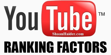 12 YouTube Rankings Factors You Can't Ignore | Geeky Stuffs | Triberr | Scoop.it